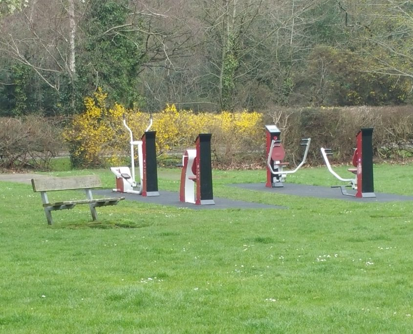 Outdoor gym - by Gordon Young