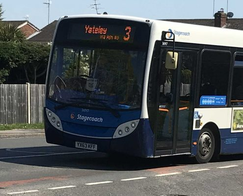 Yateley Bus No 3 - by Emma Young