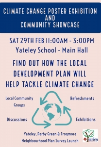 Climate Change Exhibition 29 feb